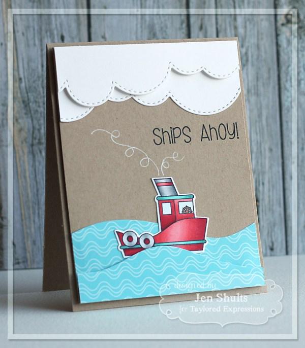 Ships Ahoy! by Jen Shults