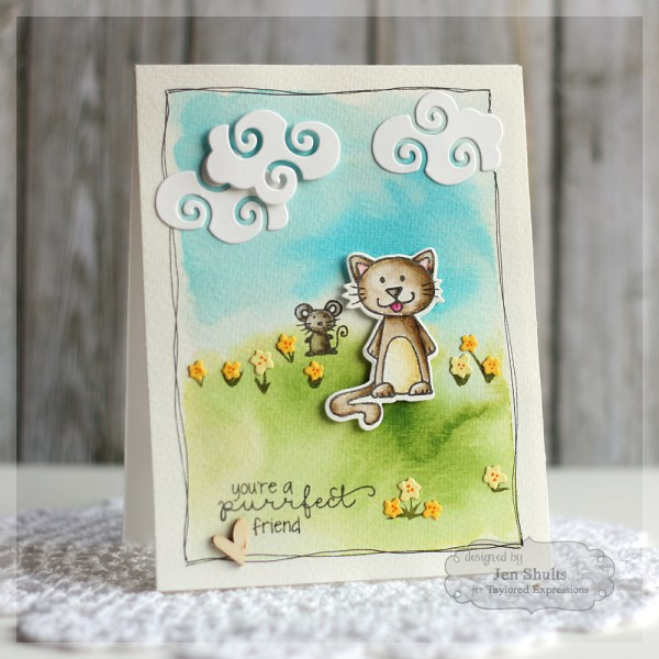A Purrfect Friend by Jen Shults for Taylored Expressions