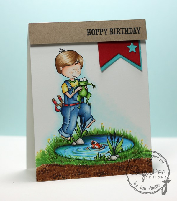 Hoppy Birthday by Jen Shults