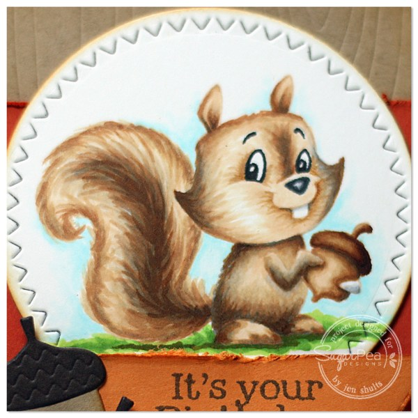 Go Nuts by Jen Shults, stamps and dies from SugarPea Designs
