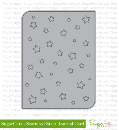 SPD-Scattered-Stars-Journal-Card-Die