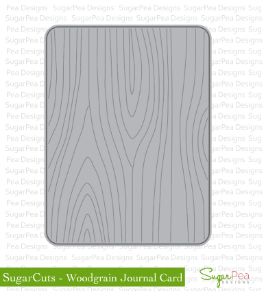 SPD-Woodgrain-Journal-Card-Die