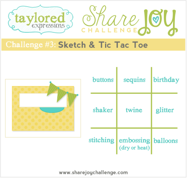 Share Joy Challenge 3 by Taylored Expressions