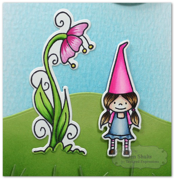Hello Friend by Jen Shults using Under the Flower from Taylored Expressions