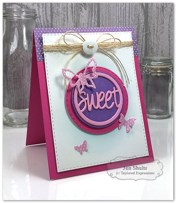Sweet! by Jen shults using Share Joy Challenge 24 by Taylored Expressions