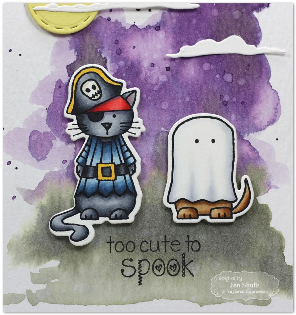 Critter Halloween Cards by Jen Shults