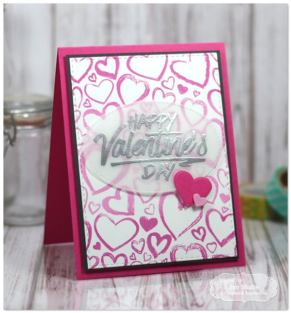 Happy Valentine's Day card by Jen Shults