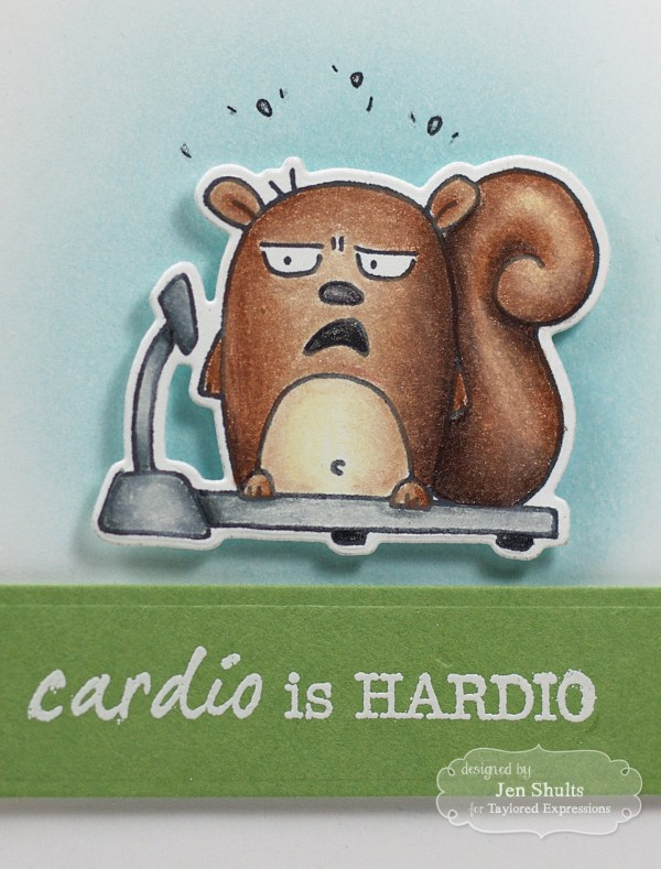 Cardio is Hardio by Jen Shults