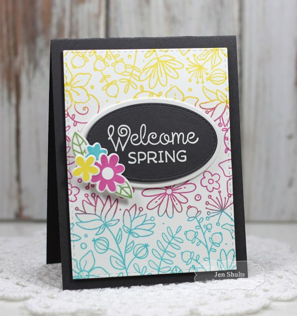 Welcome Spring by Jen Shults