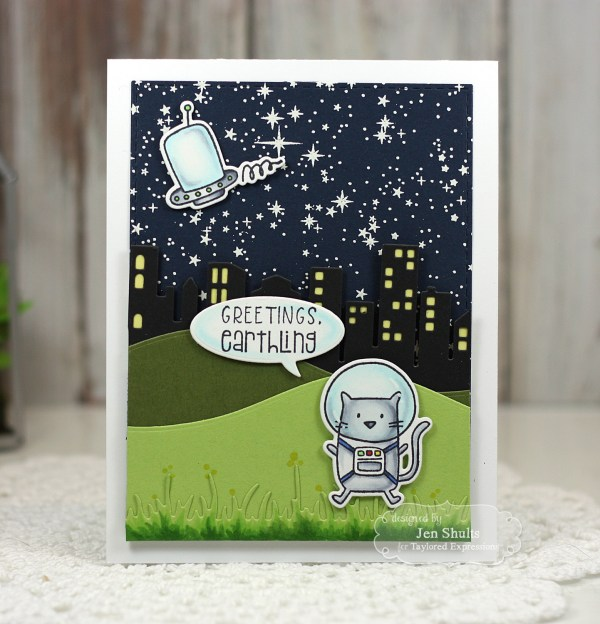 Greetings Earthling by Jen Shults