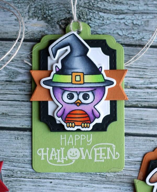 Happy Halloween Tags by Jen Shults