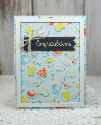 Congratulations (new baby) by Jen Shults