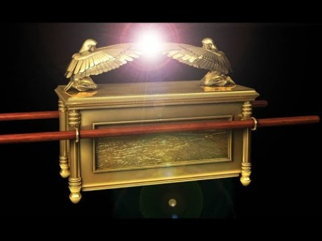 Ark of the Covenant ... Snapshot from ... The Ark of the Covenant & The Great Pyramid of Egypt | Ancient Architects ... https://www.youtube.com/watch?v=dl6oTV5w4ZE