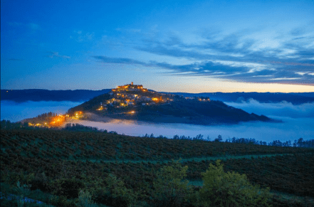 The Mystic Beauty-Motovun at Night ... Photo taken from ... https://motovunhouse.com/en/