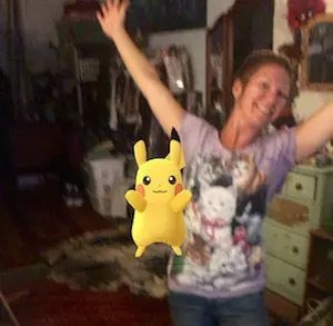 Pikachu in da house