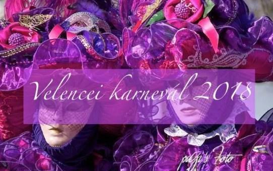 Velencei karnevál 2018