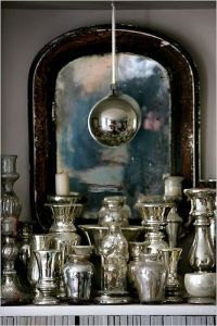 Antiqued Mercury Mirror GlassAntiqued Mercury Mirror Glass