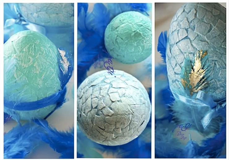 A húsvéti sárkánytojásom - DIY