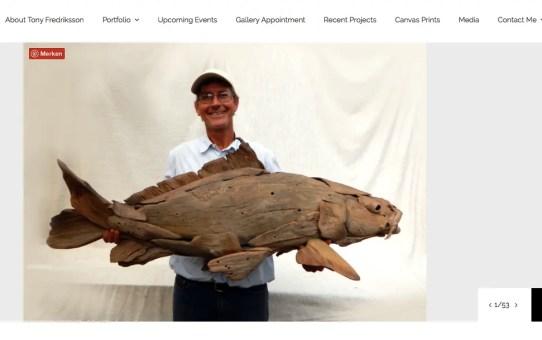 Uszadékfa szobrok - Tony Fredriksson