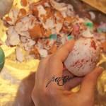 Vintage tojások a Decor Clay-el