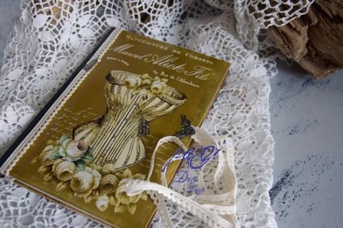 Vintage Heft, Tagebuch, Notizbuch
