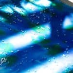 Kézzel festett selyem üdvözlőkártyák - DIY