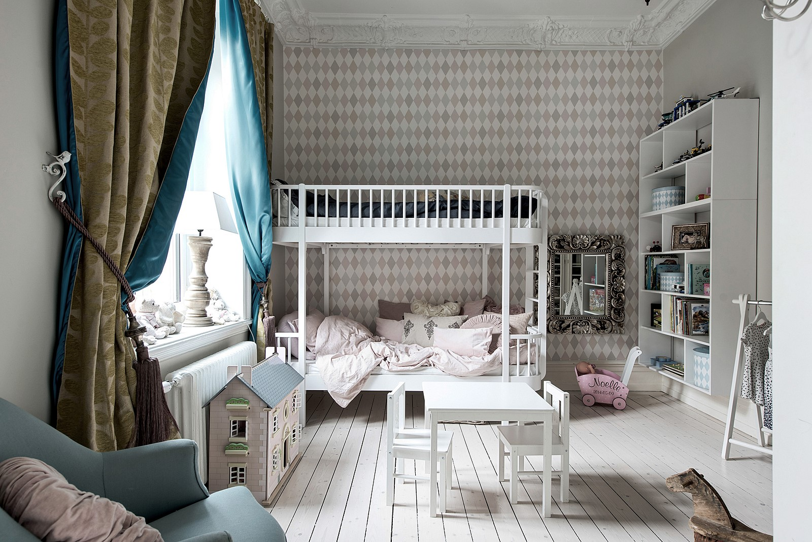детская комната кровать