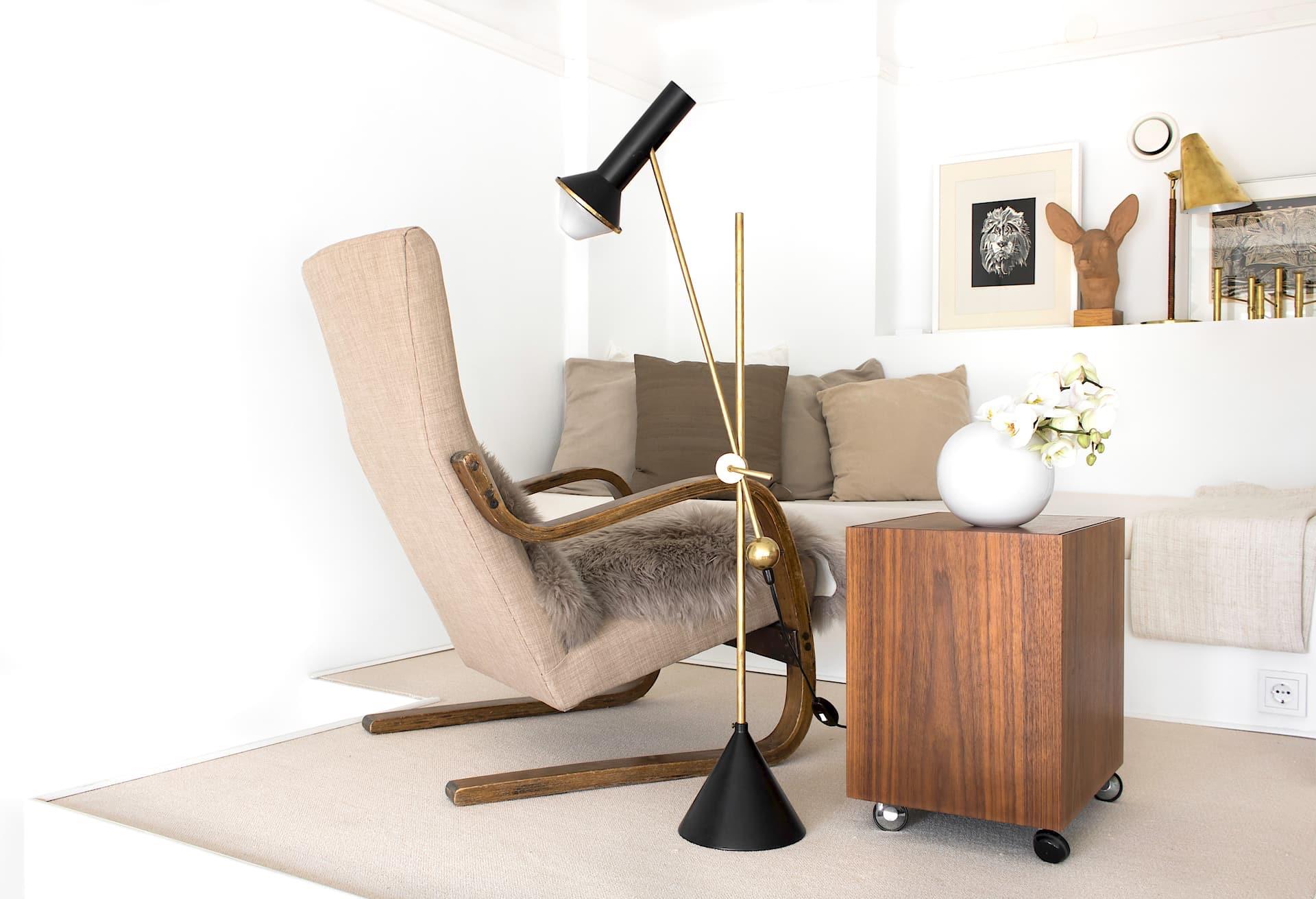 лампа кресло