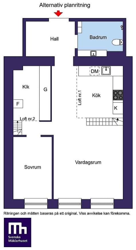 планировка квартиры вариант