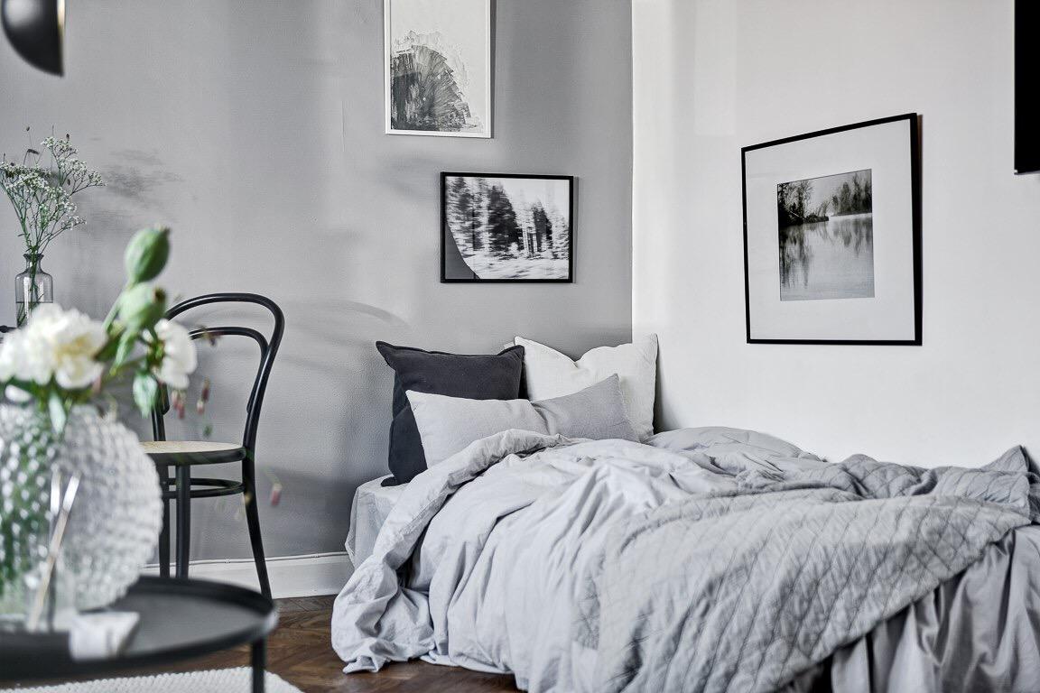 комната кровать