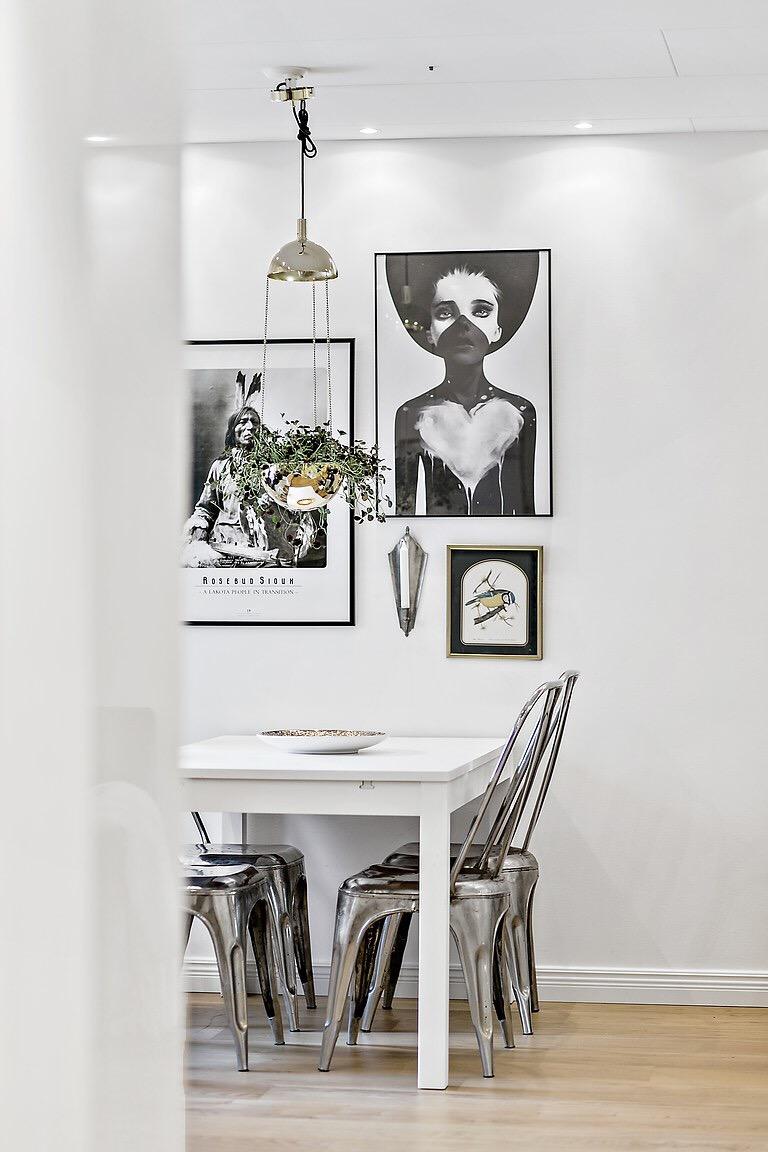 кухонный обеденный стол стулья tolix
