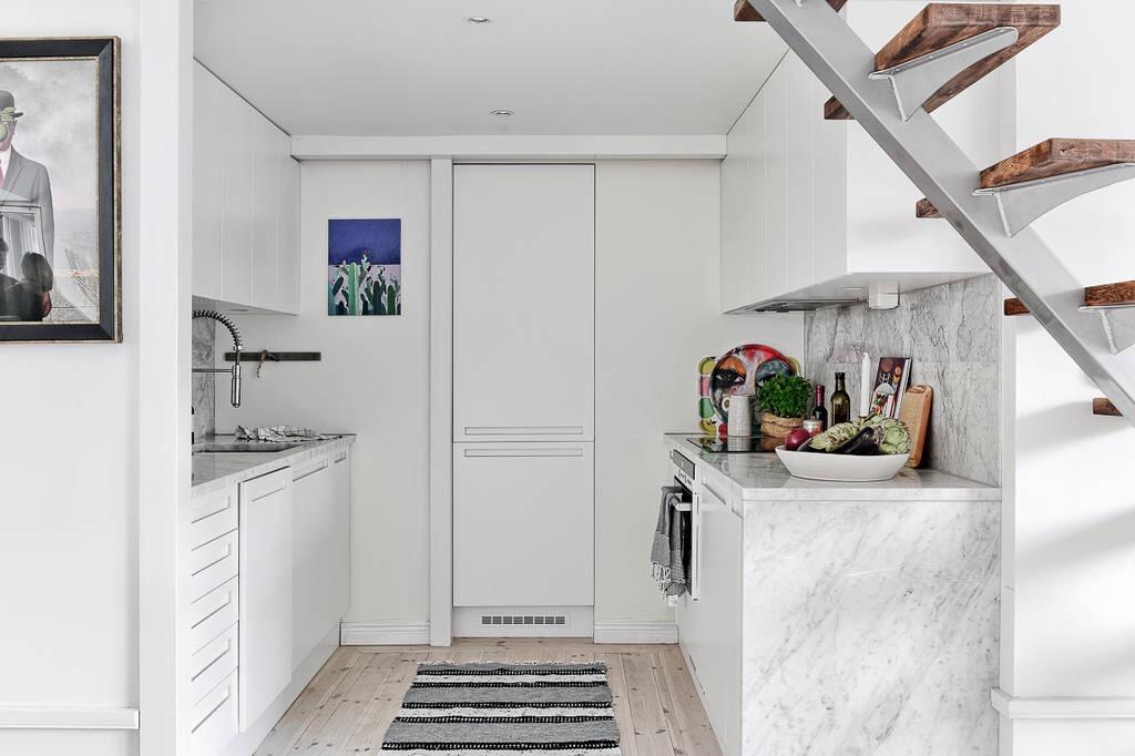 кухня холодильник