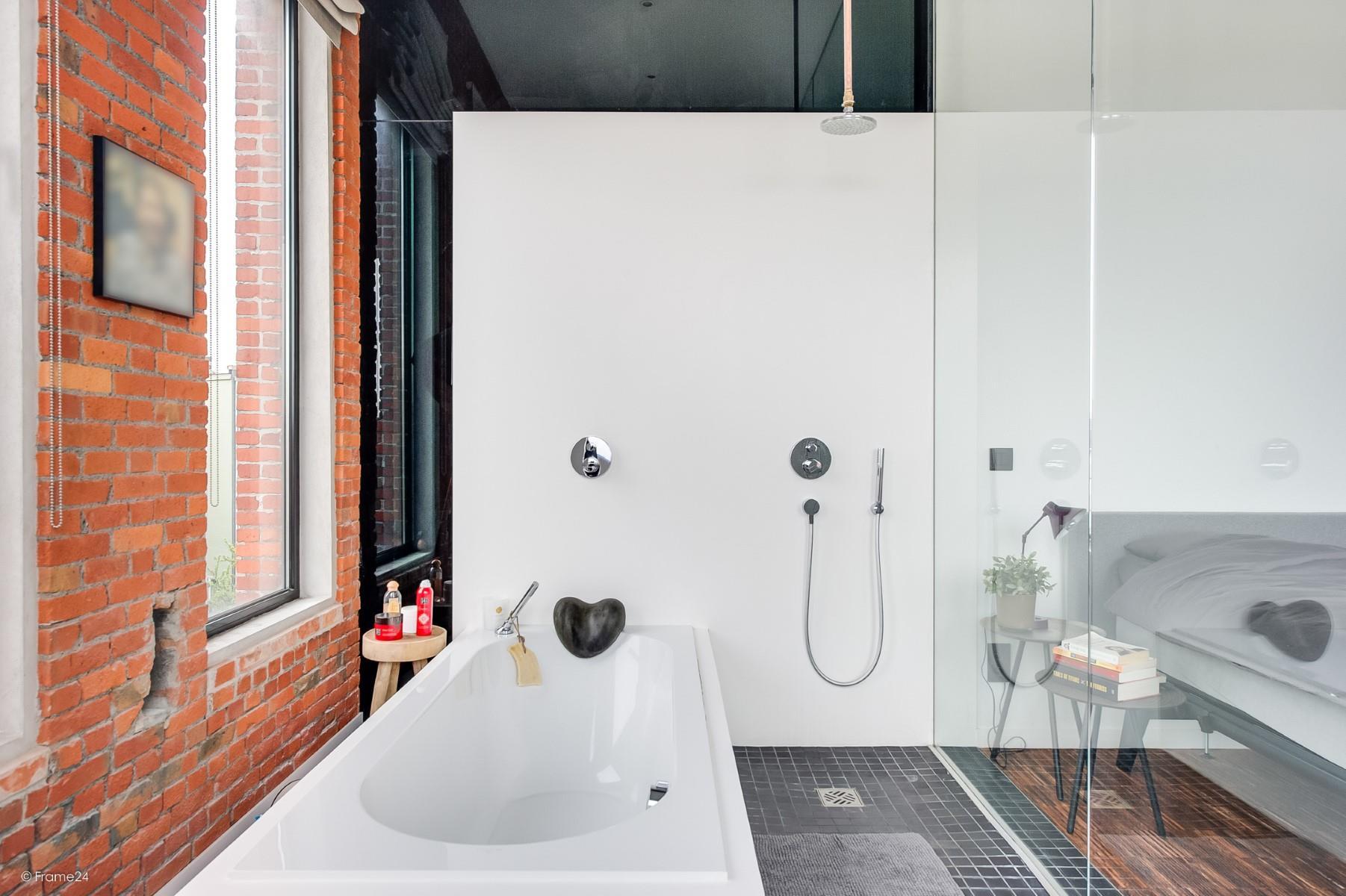 ванна душ стеклянная перегородка спальня