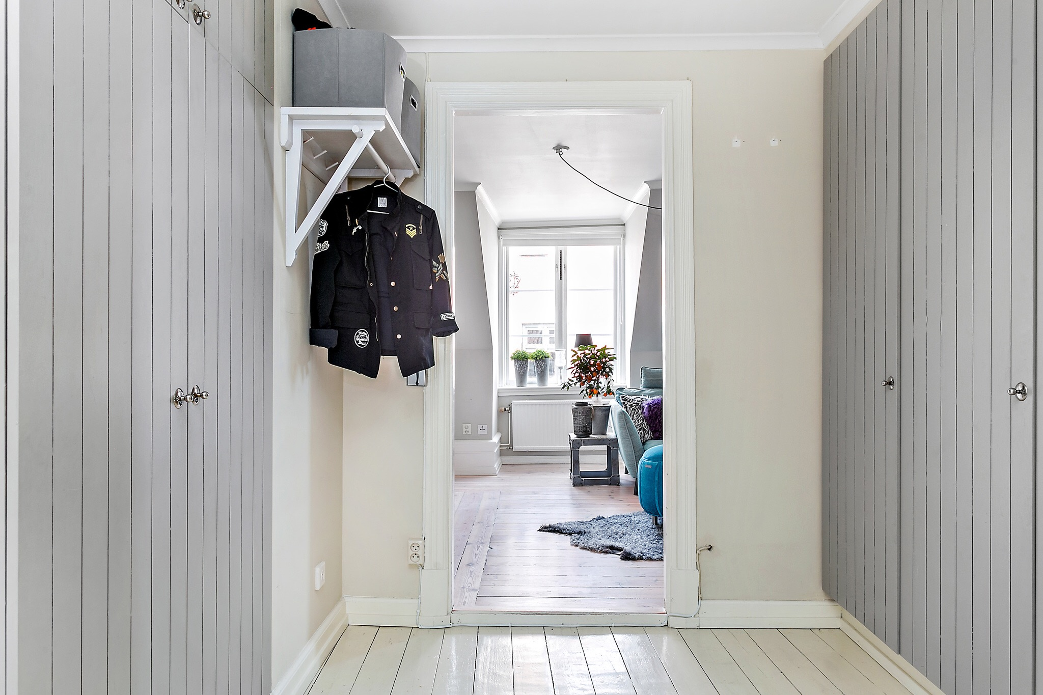 прихожая коридор шкаф
