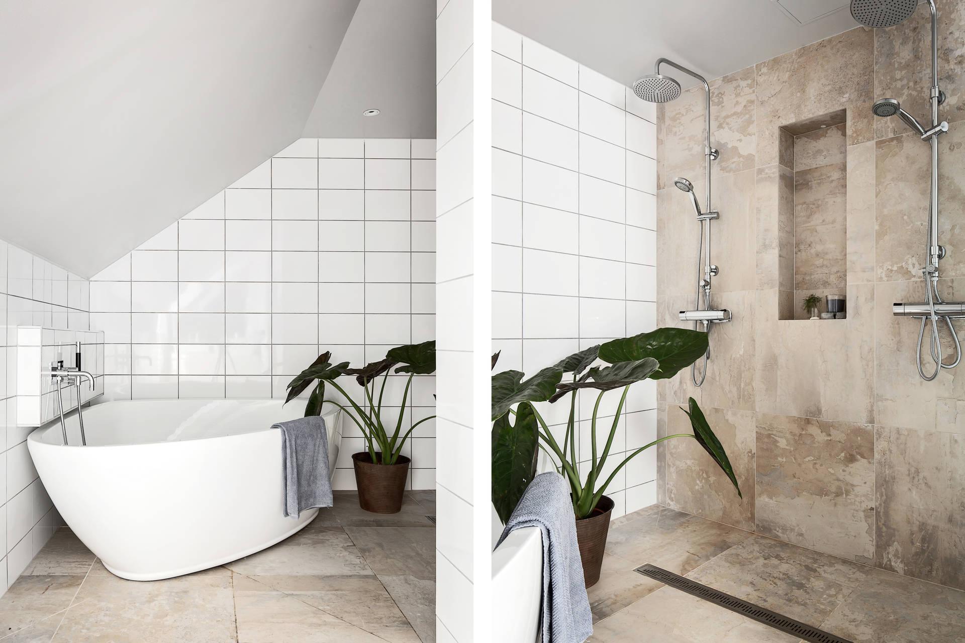 ванная комната мрамор ванна душ
