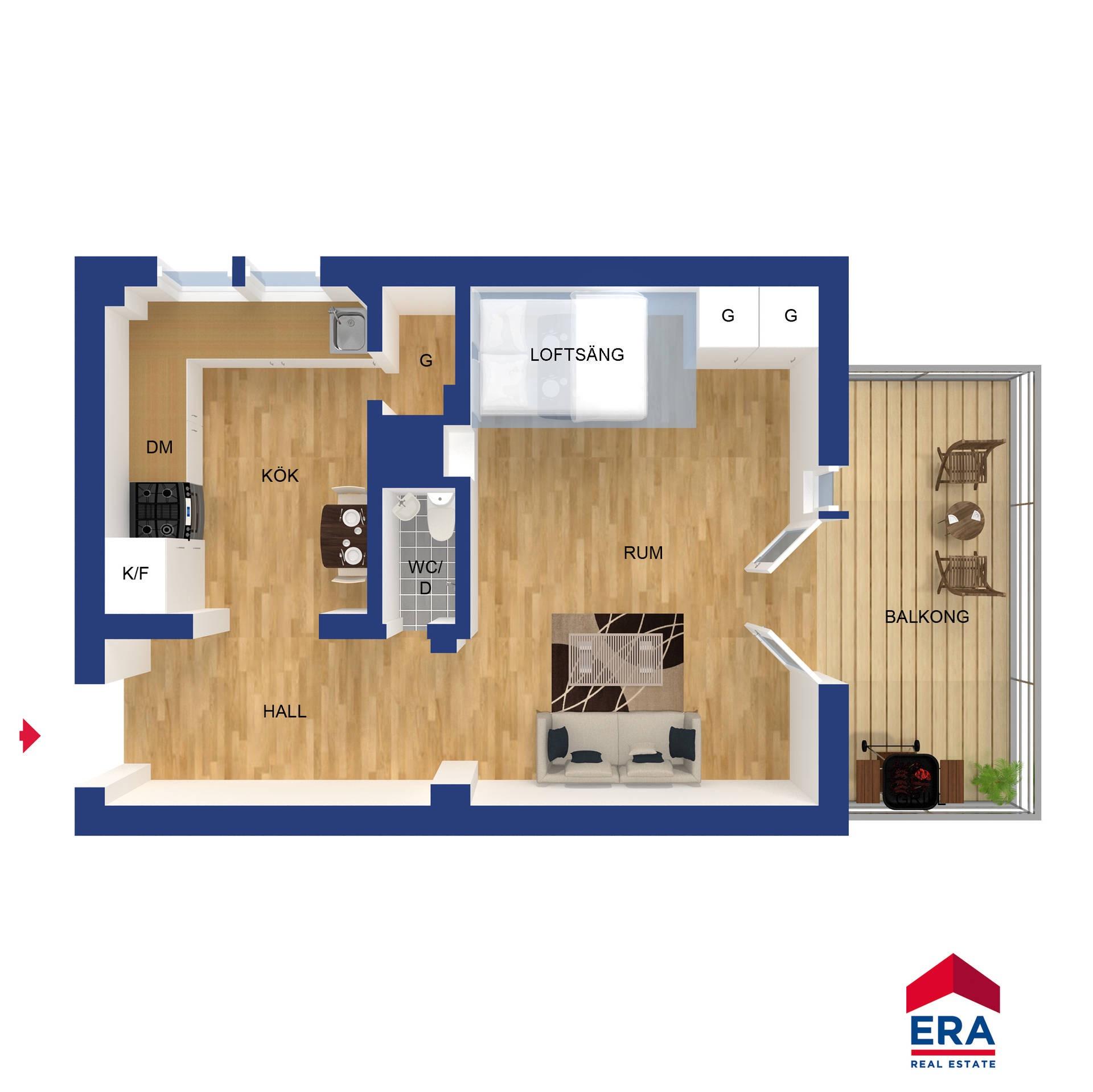 планировка квартиры мебель