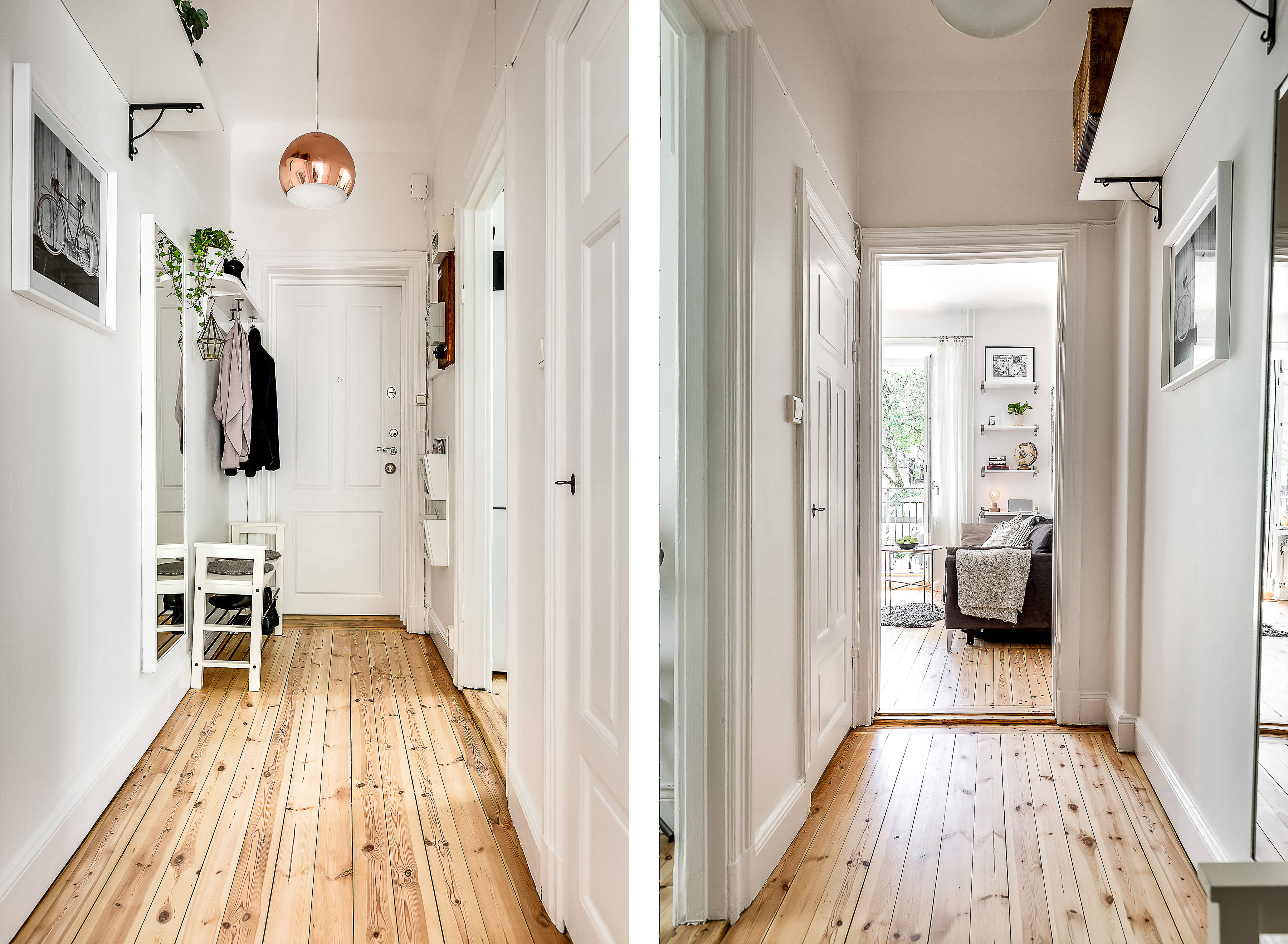 прихожая коридор входная дверь одежда