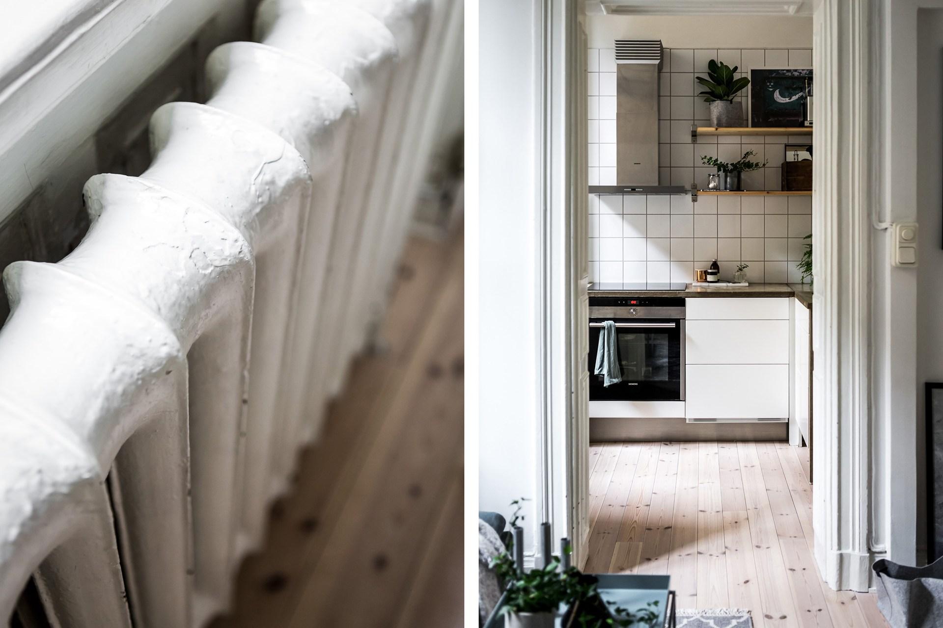 радиатор кухня