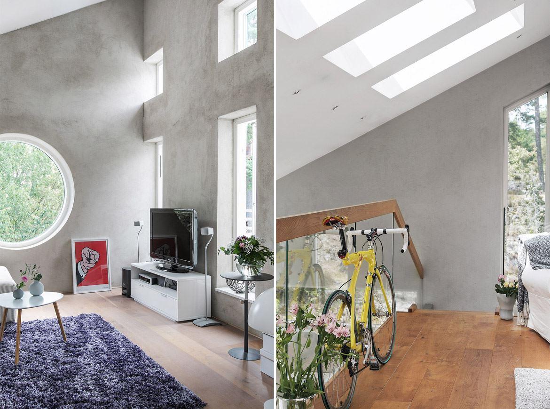 высокий потолок остекление балкон стеклянное ограждение перила