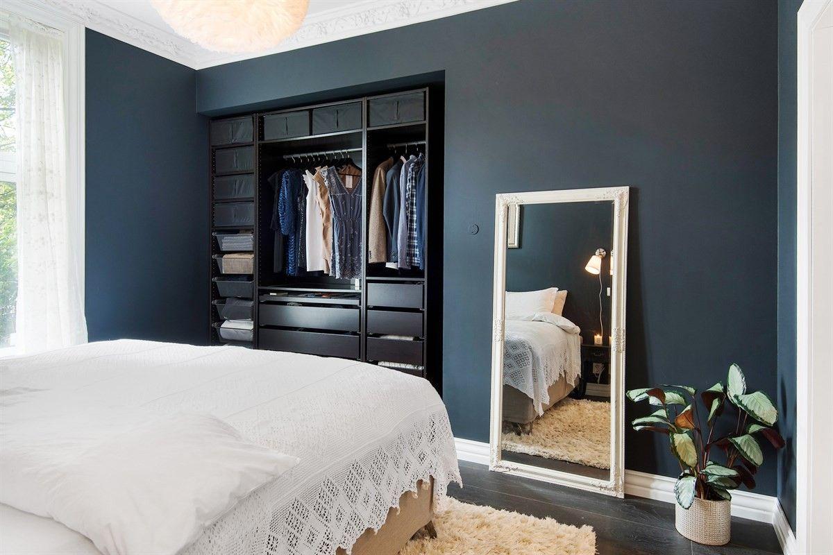 спальня ниша шкаф напольное зеркало