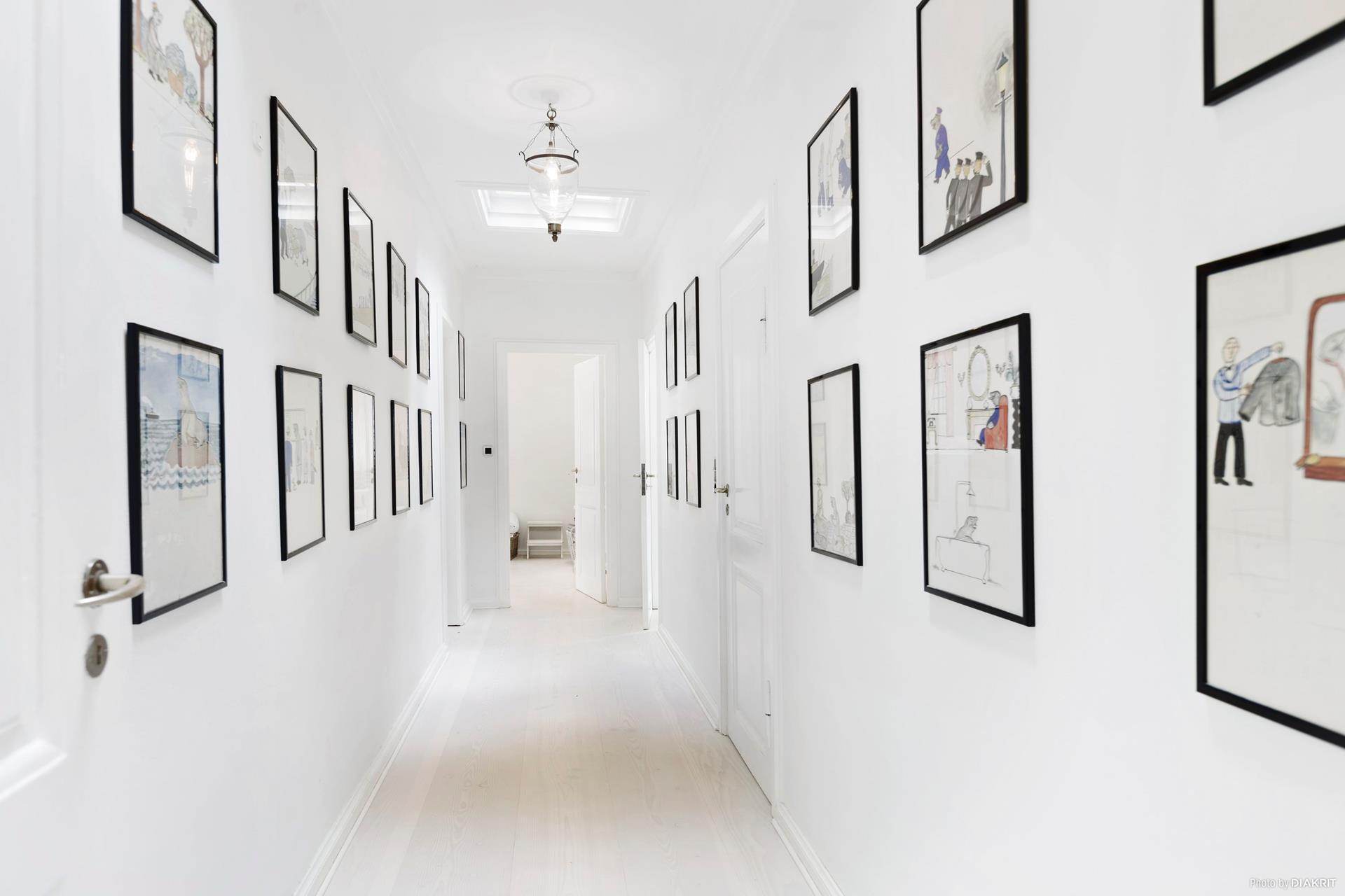 коридор галерея картины
