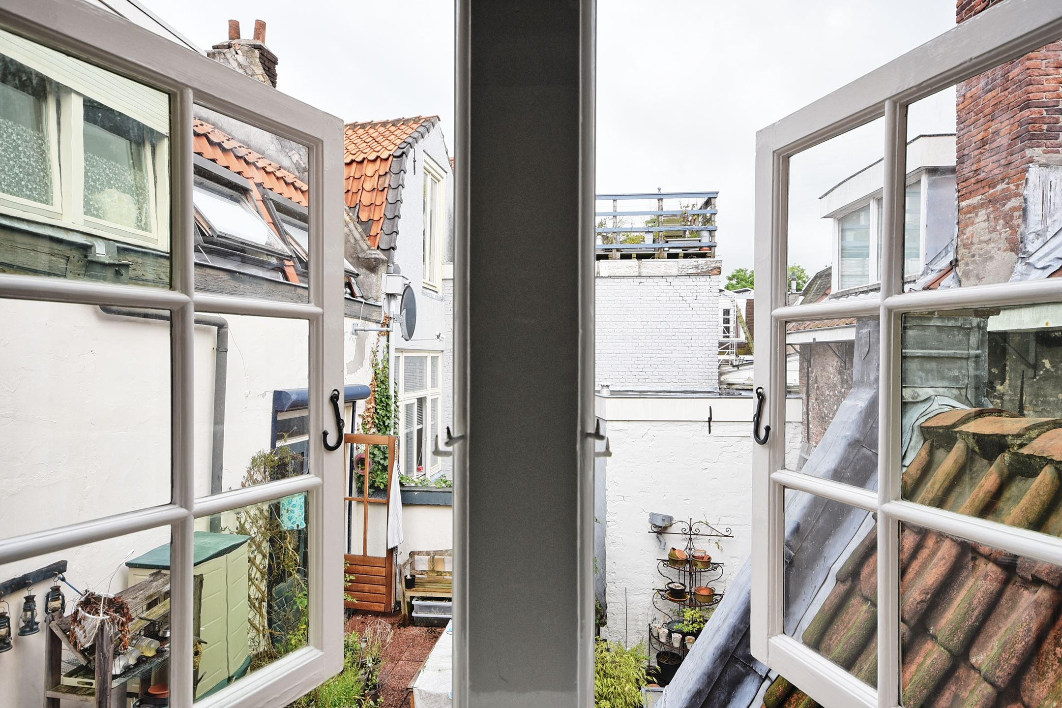 окно ставни