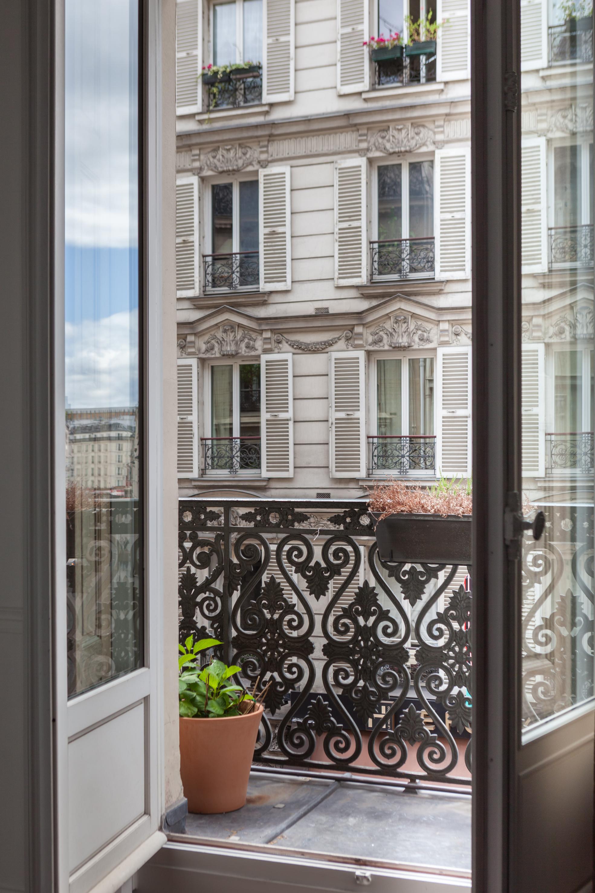 французские окна балкон чугун