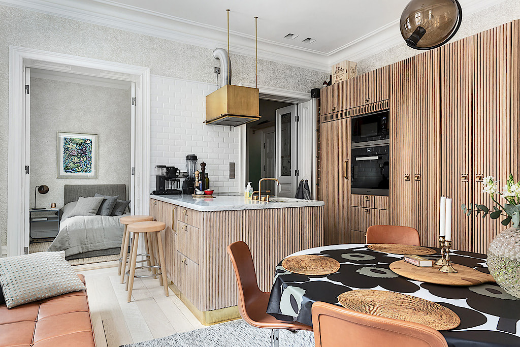 кухня фасады кухонный остров