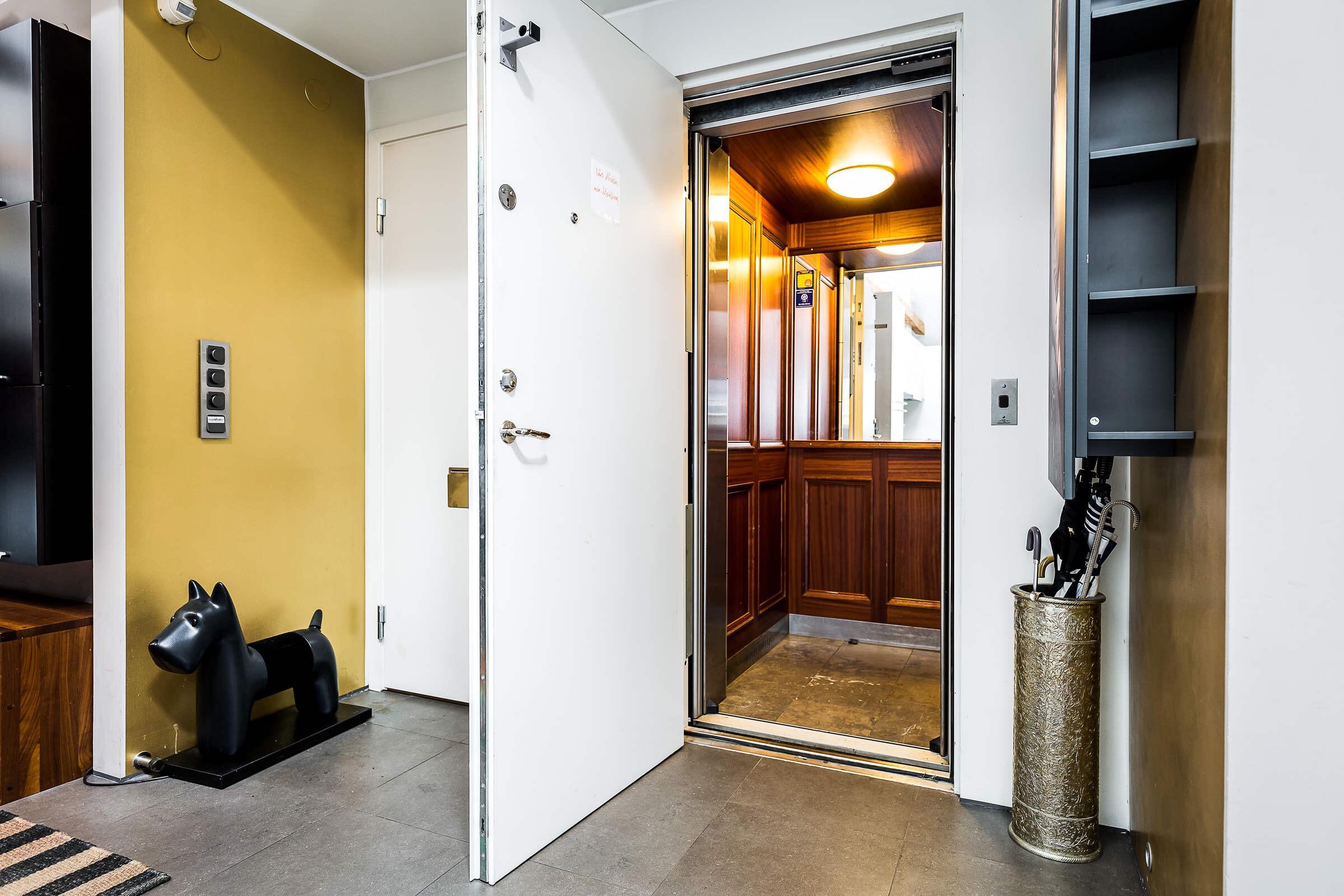 входная дверь лифт пентхаус