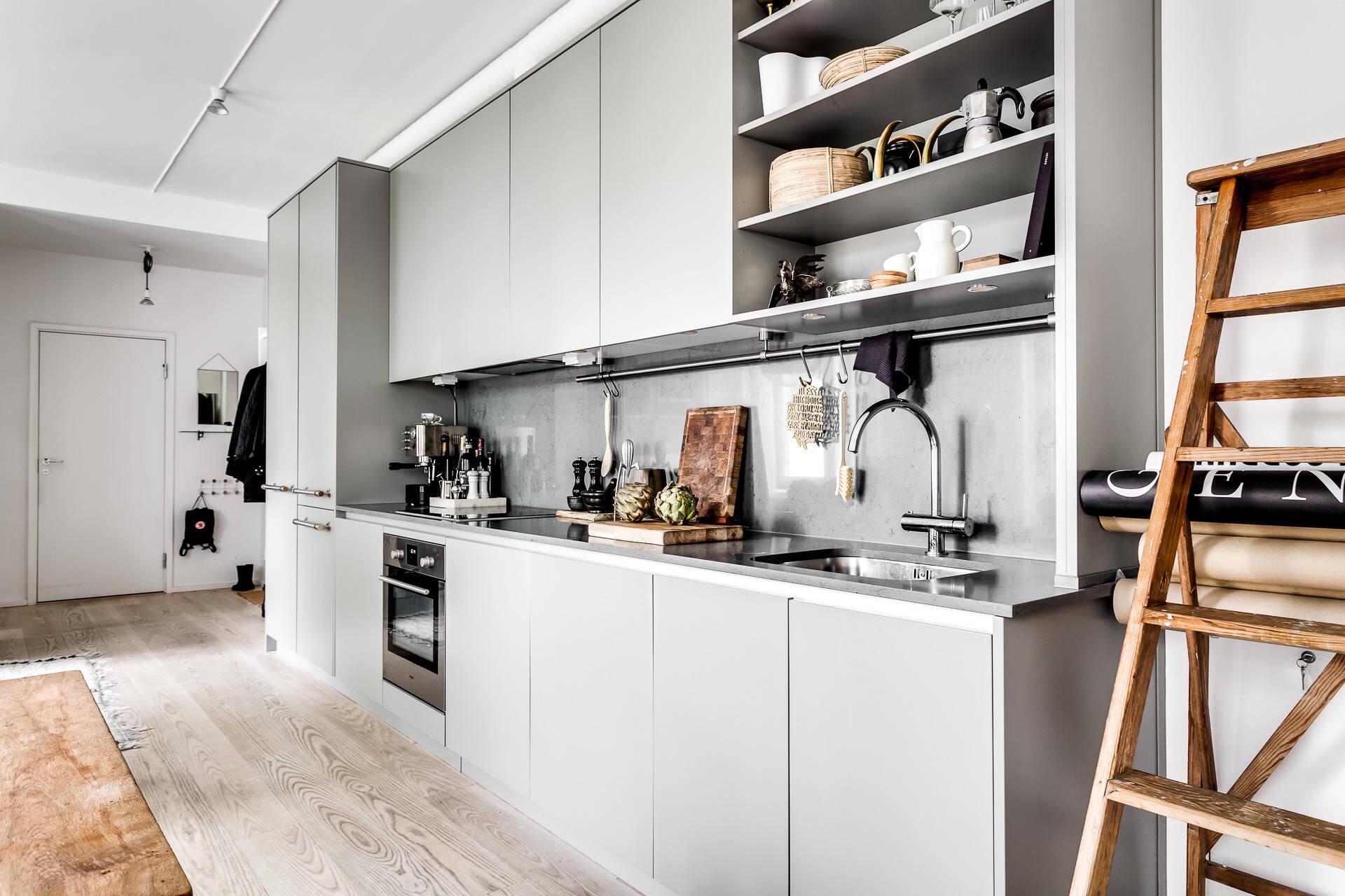 кухня гостиная прихожая