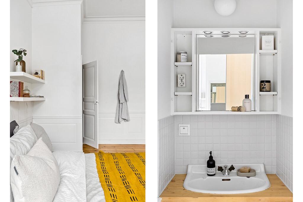 спальня санузел раковина смеситель зеркало
