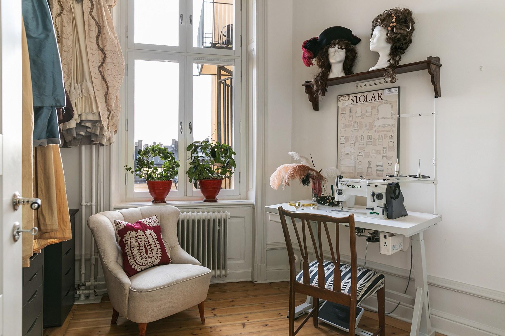 комната для творчества рукоделия хобби