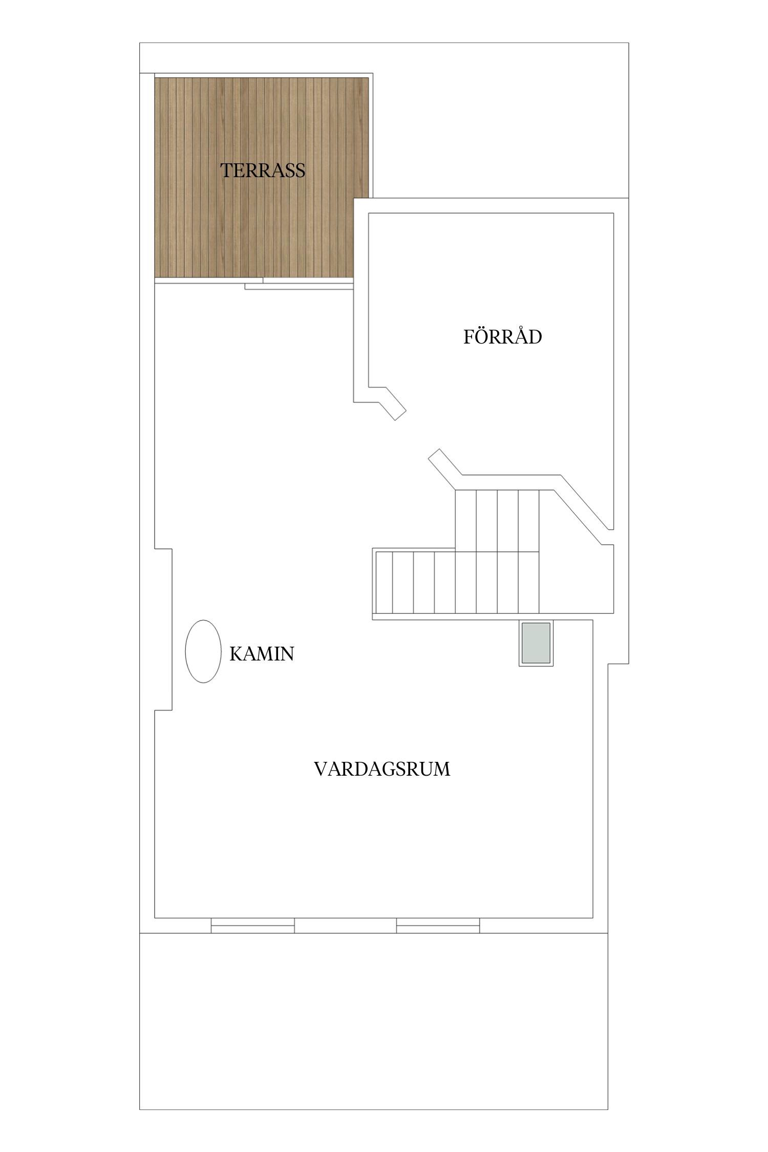 планировка двухуровневой квартиры