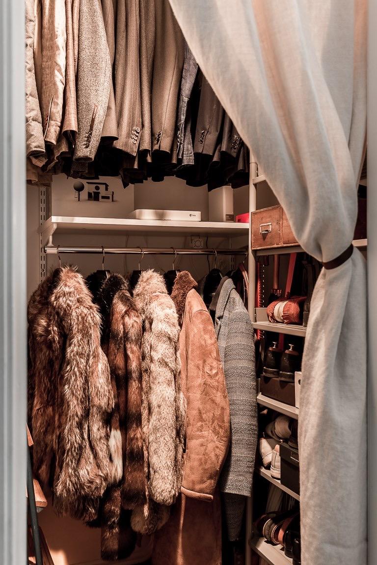 гардеробная одежда